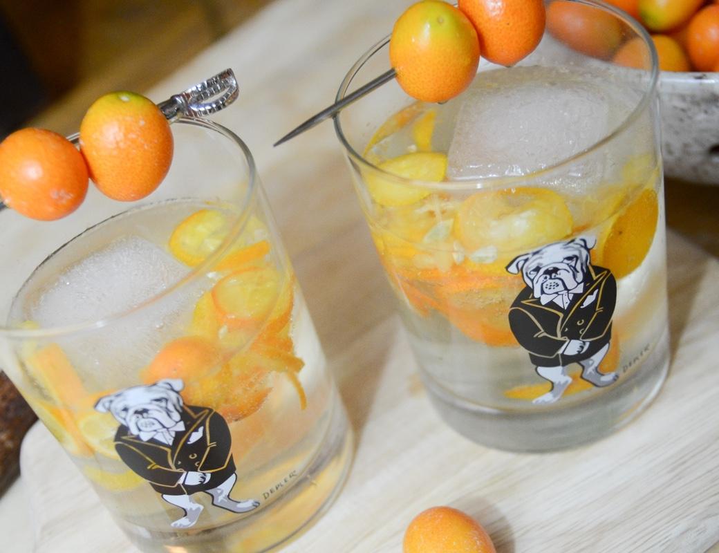 kumquat gin and tonic