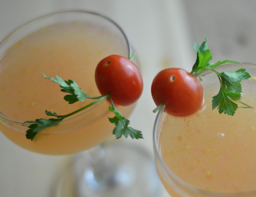 tomato st germain cocktail