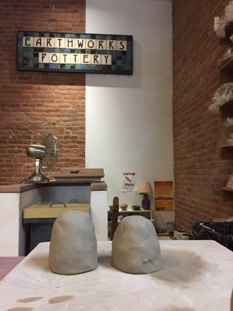 how to make tiki mugs wedging clay