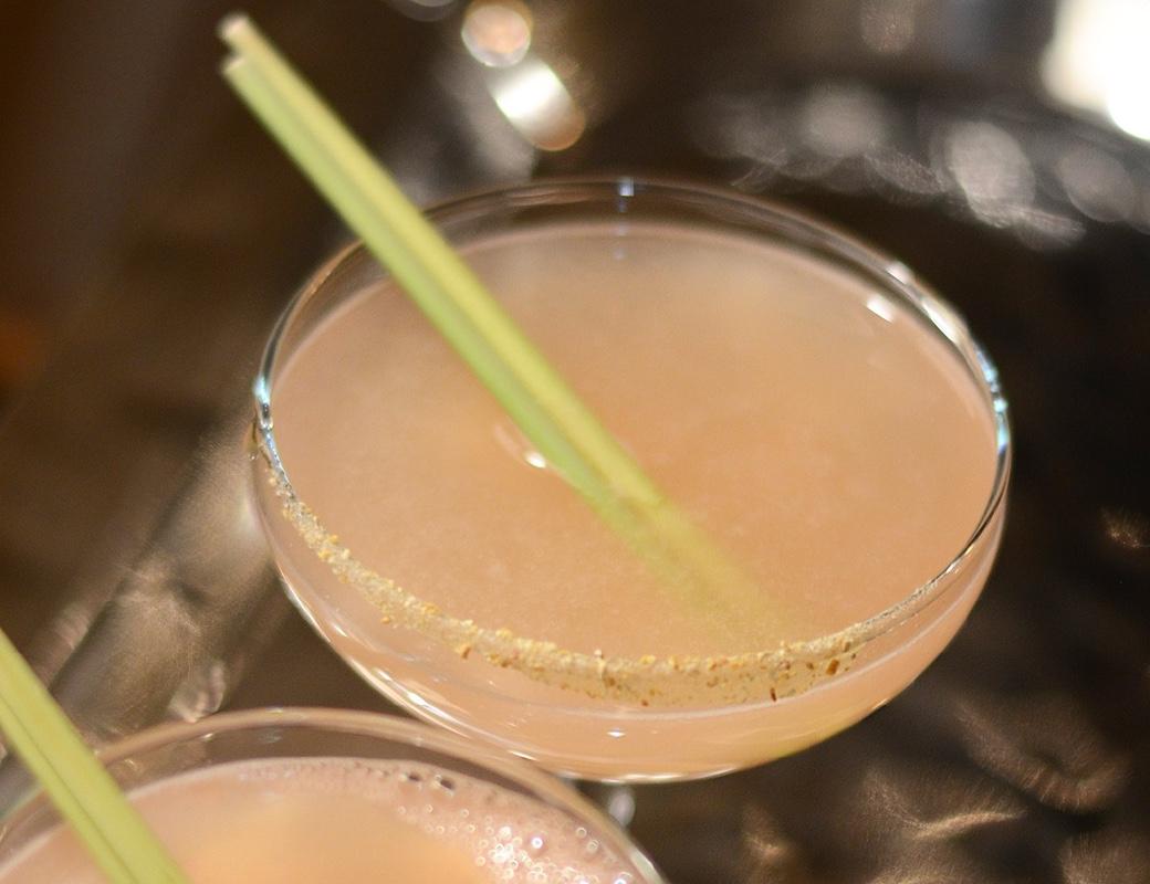 lemongrass and sake cocktail