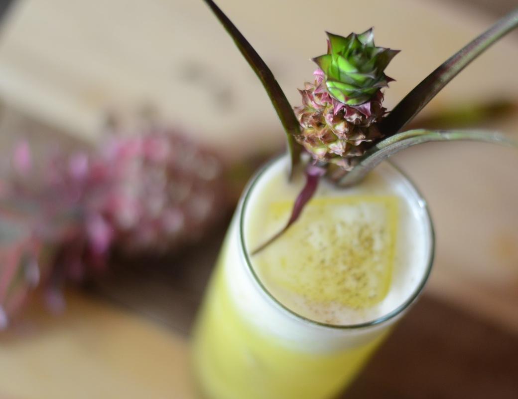 pineapple rum velvet falernum cocktail
