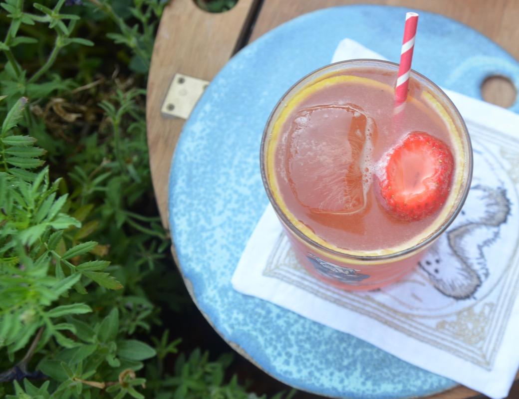 Southland Sipper: Rye, Strawberry, Benedictine