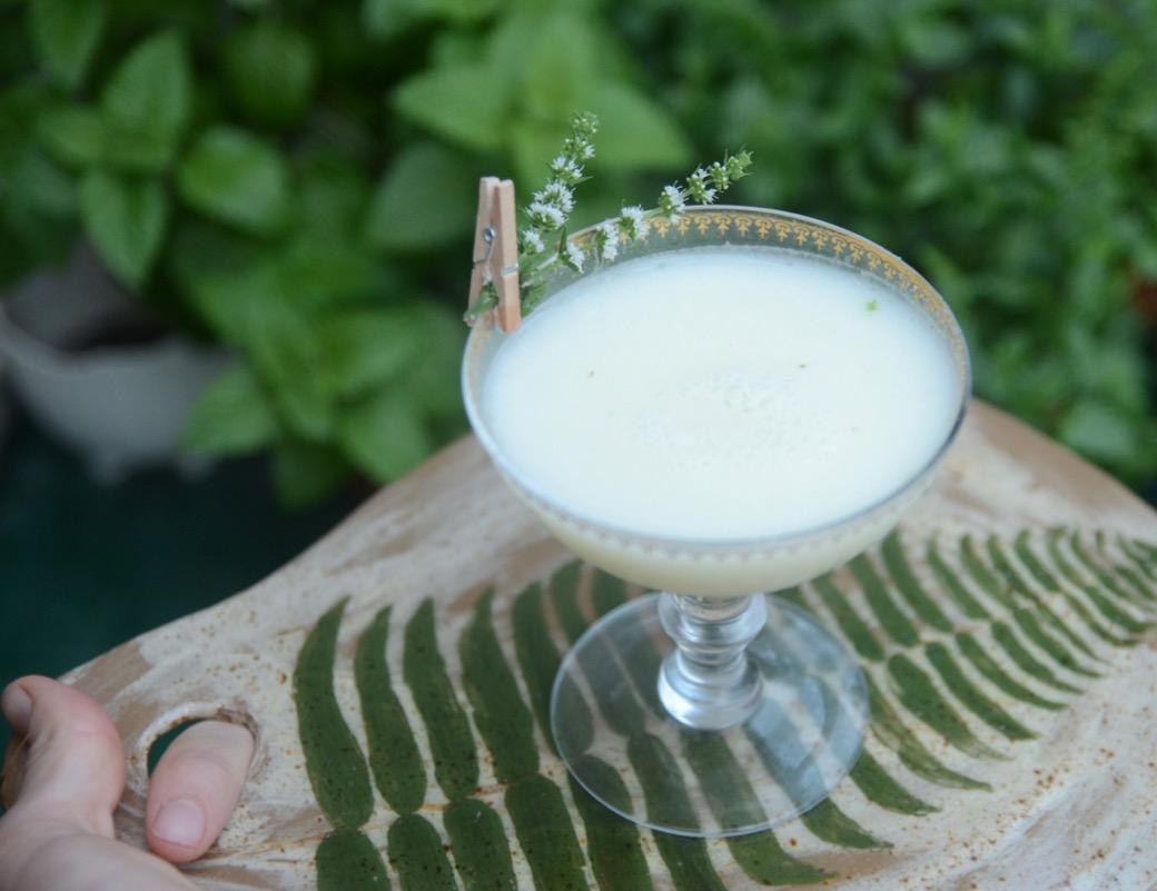 tequila mezcal creme de menthe cocktail