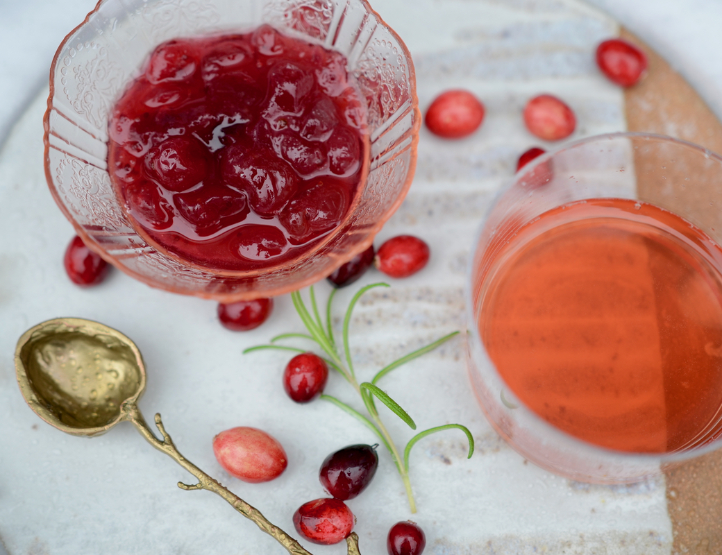 apricot cranberry sauce for cocktails marge clark