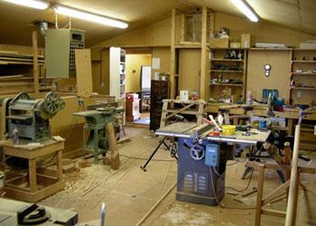 Lakeside Dental was originally a woodworking shop