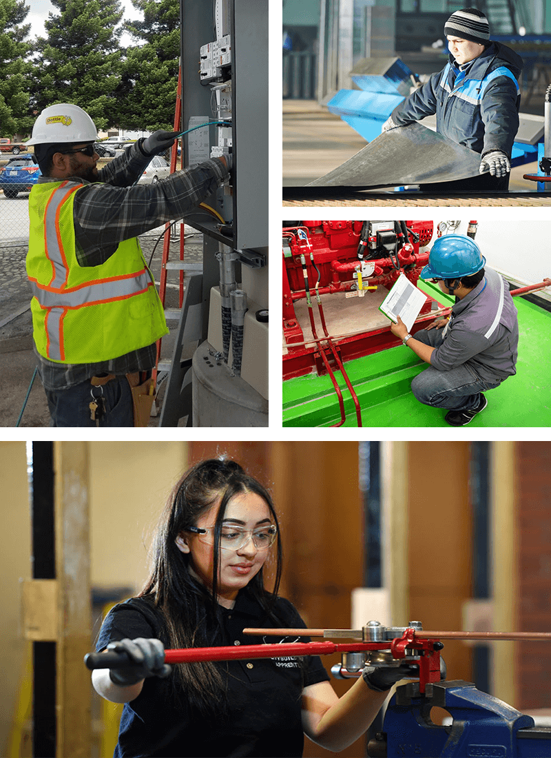 construction math trades collage