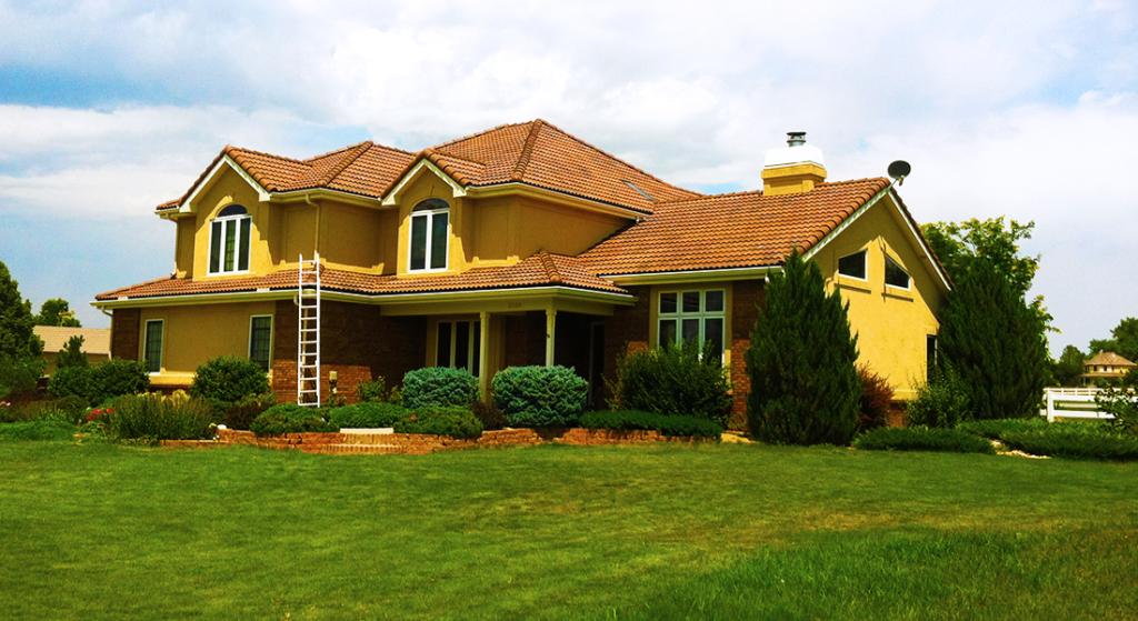 Complete Re-Roof - Spanish Tile - Windsor, CO