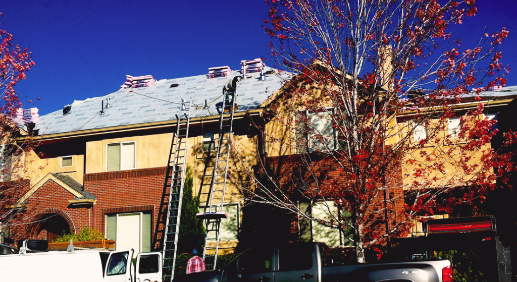 Hail Damage Roof Repair - Roof Replacement For Apartment Complex - Denver, CO