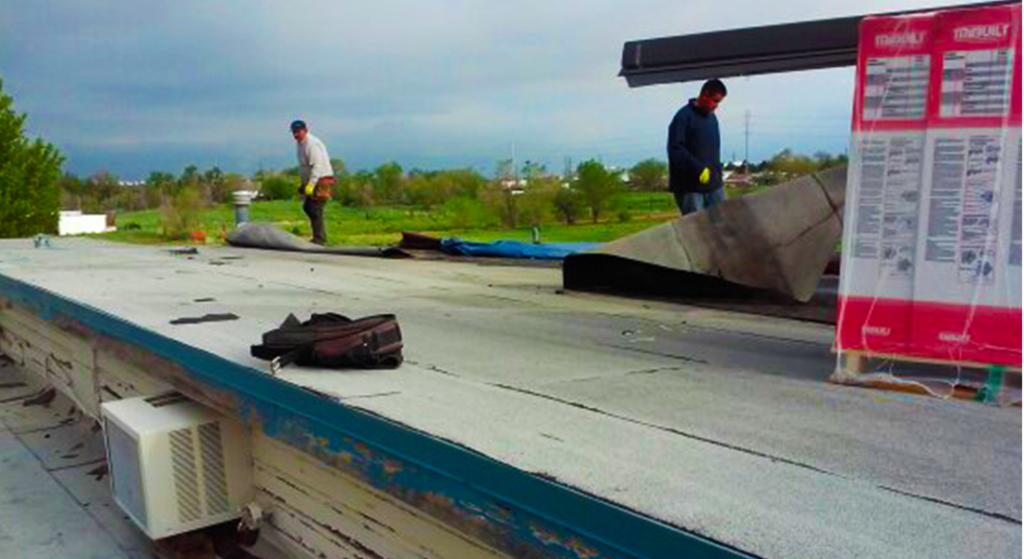 Commercial Flat Roof Replacement - Centennial, CO