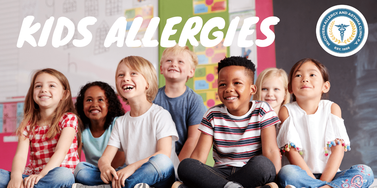 kids with allergies