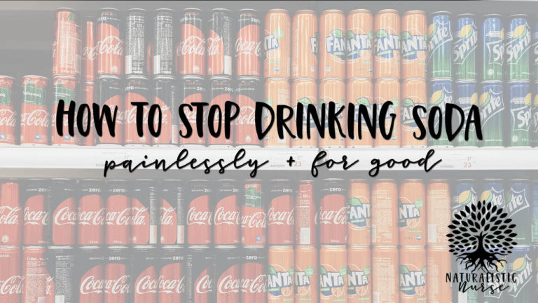 hot to stop drinking soda