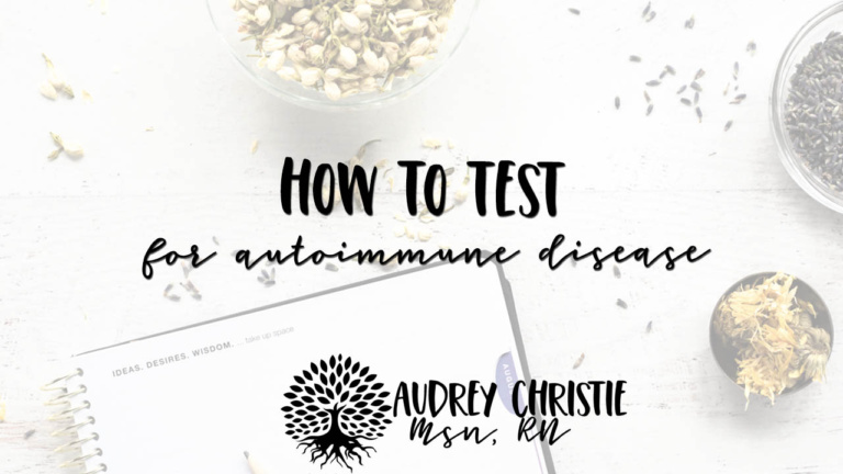 how to test for autoimmune disease