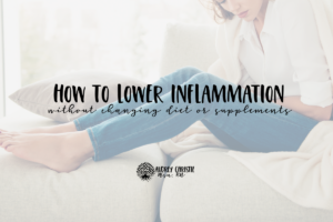 how to lower inflammation graphic