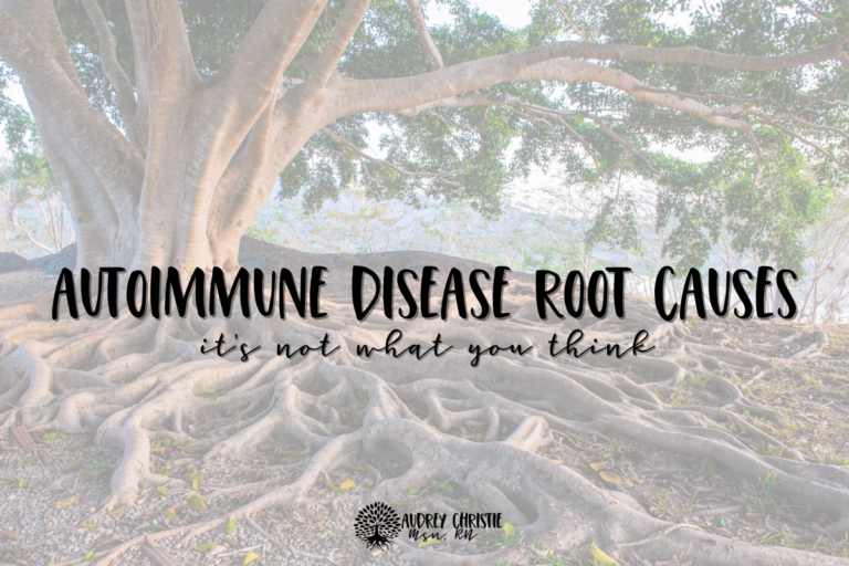 autoimmune disease root causes