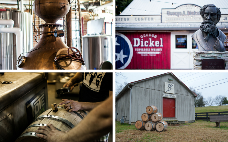 George Dickel Whiskey on the Tennessee Whisky Tour