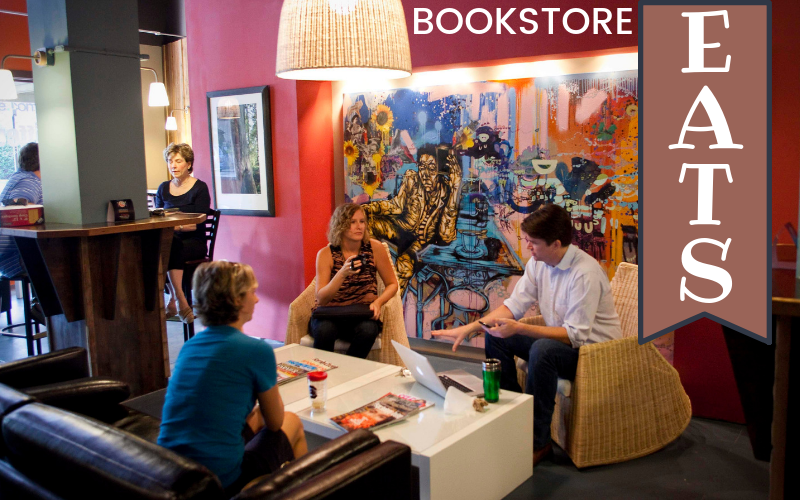 Bookstore Eats - Foodie Travel USA