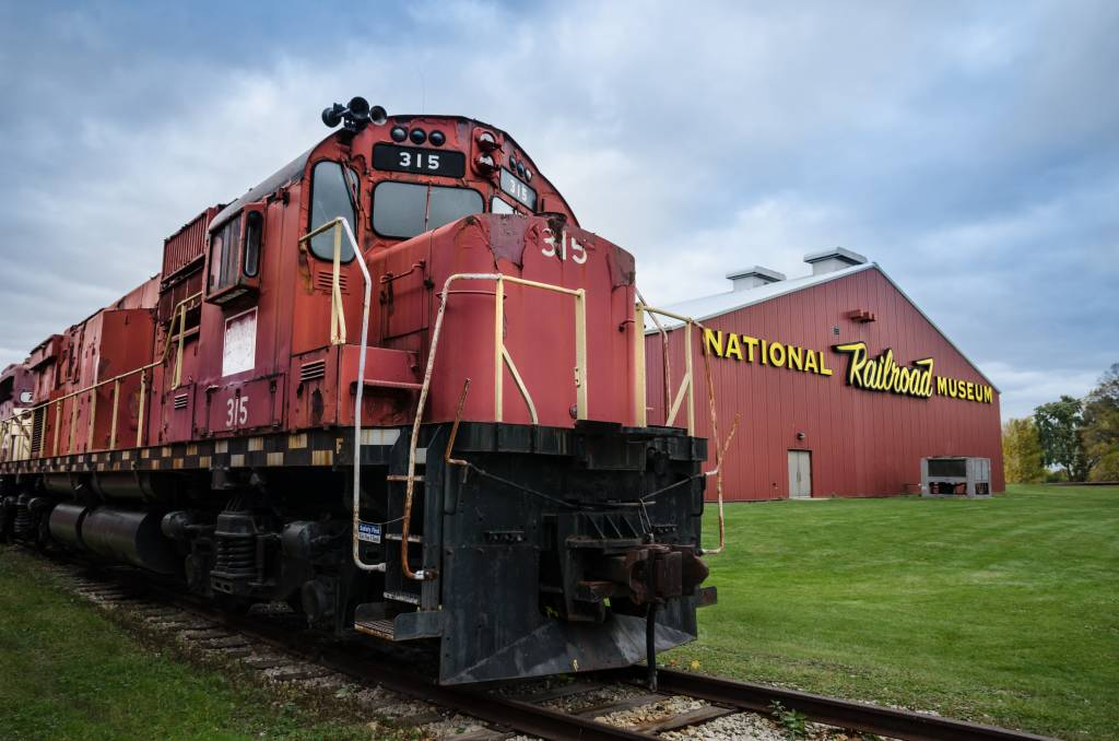 National RR Museum - Foodie Travel USA