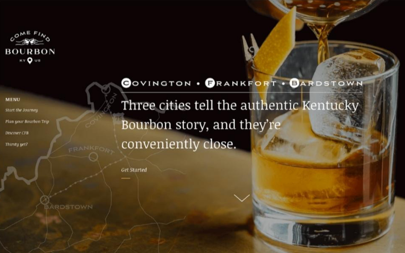 Come Find Bourbon - Foodie Travel USA