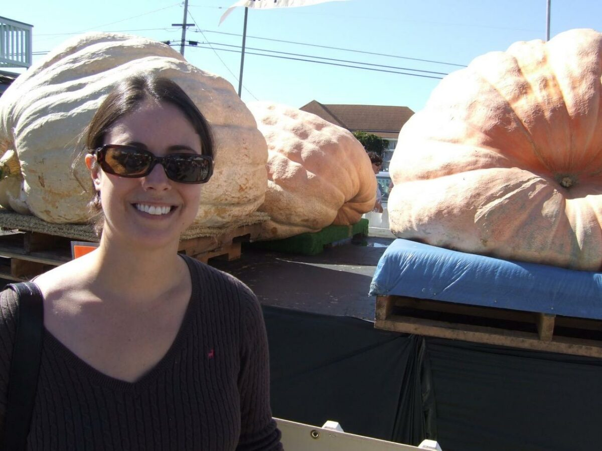 Giant Pumpkins - Foodie Travel USA