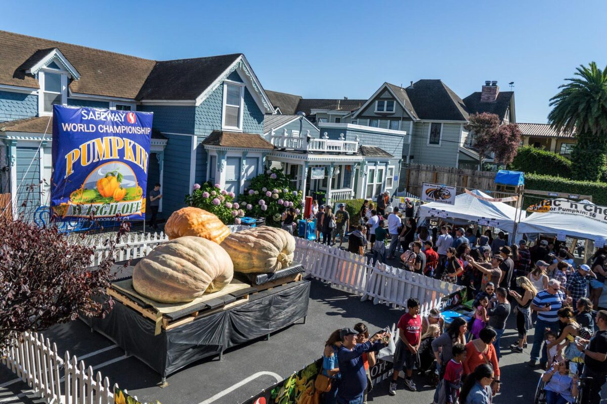 Half Moon Bay - Pumpkin Festival - Foodie Travel USA