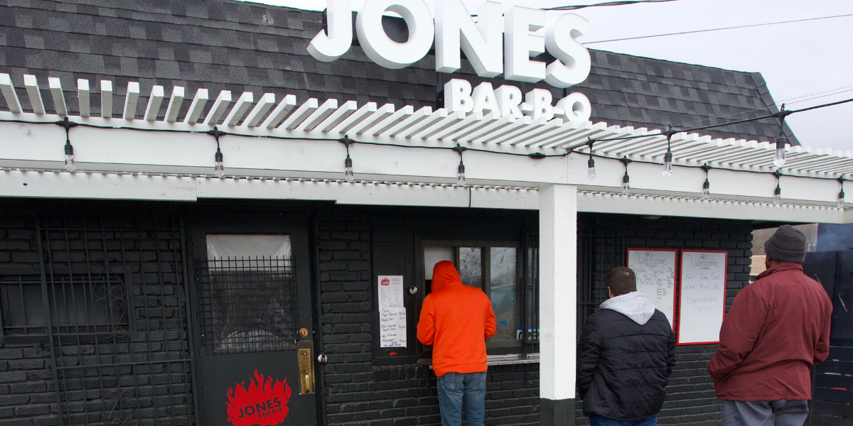 Jones BBQ - Foodie Travel USA
