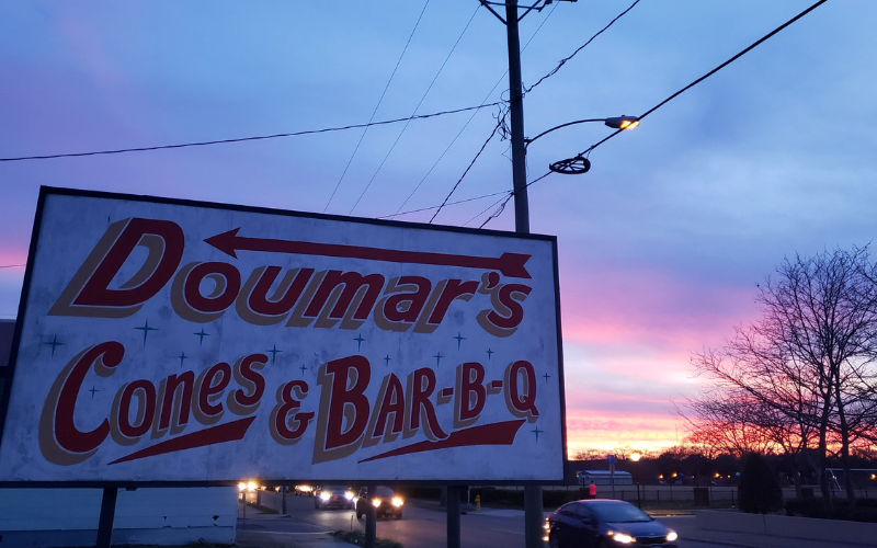 Doumar's Cones and BBQ - Foodie Travel USA