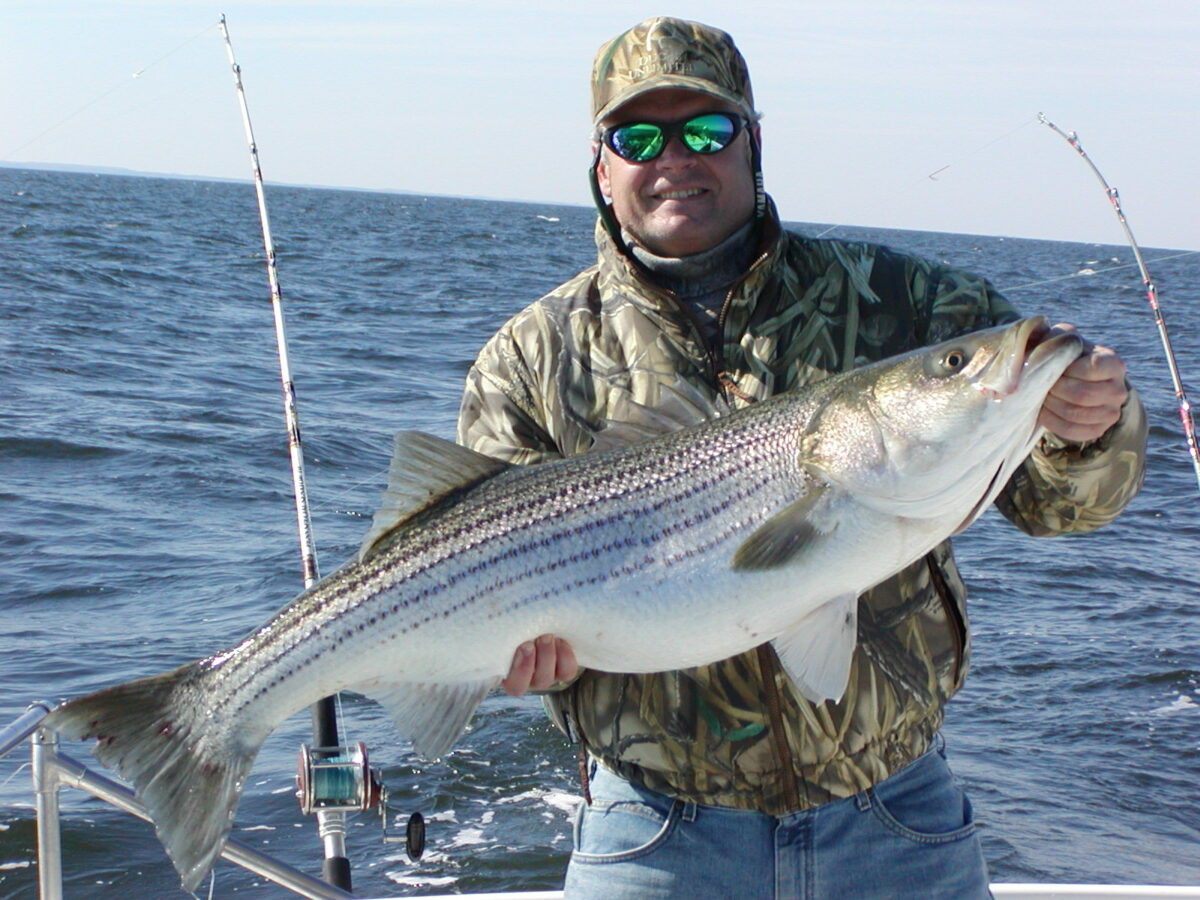 Striped-Bass (Rock Fish) Fishing