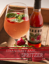 Strawberry Basil Spritzer - Foodie Travel USA