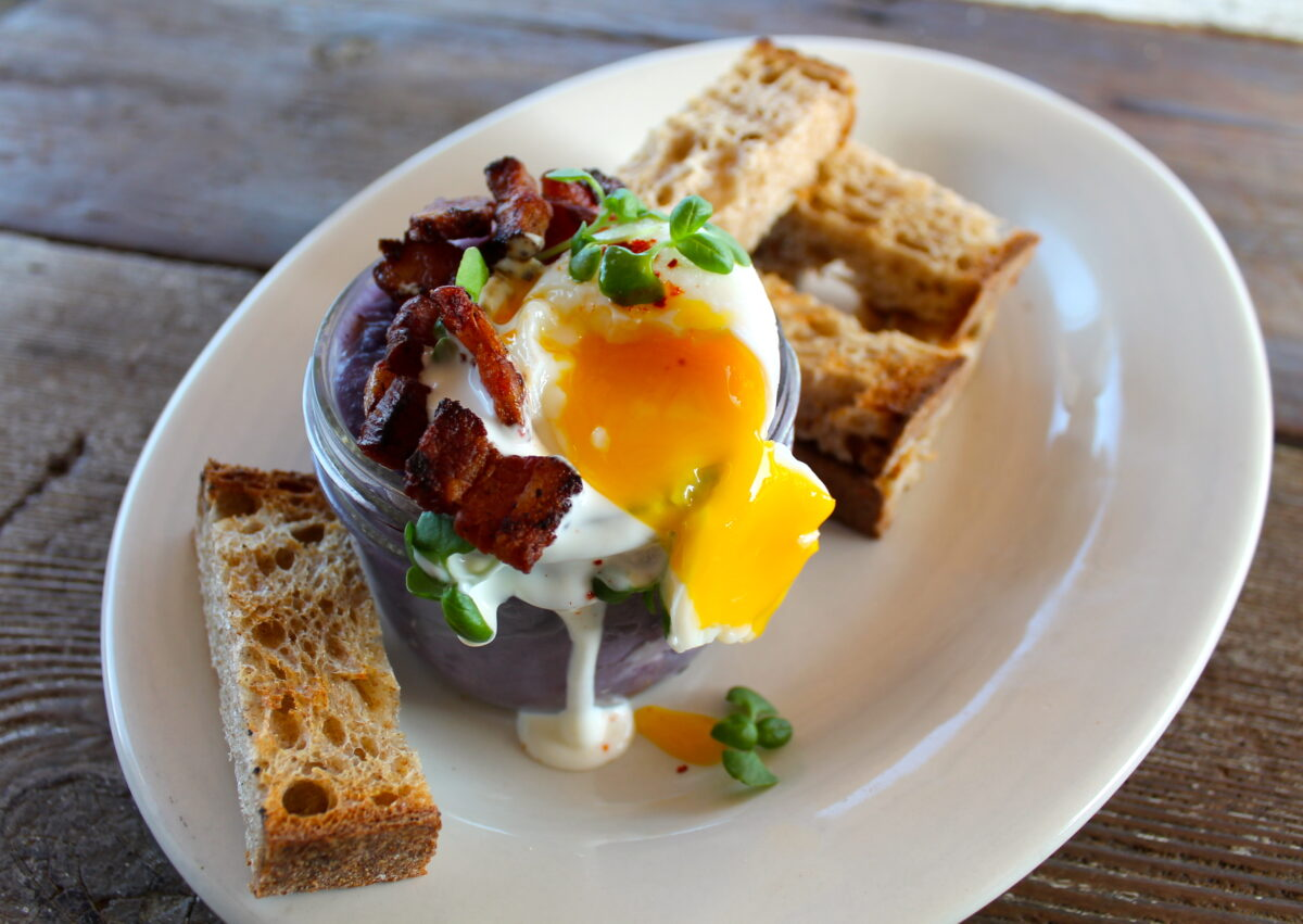 Bob's Egg in a Jar - Foodie Travel USA