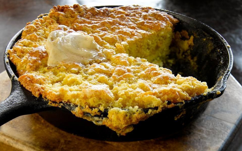 Cornbread Chat - Foodie Travel USA