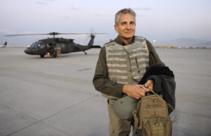 """Bestselling authors tour combat outposts in Afghanistan to meet and greet US military during """"Operation Thriller II"""""""
