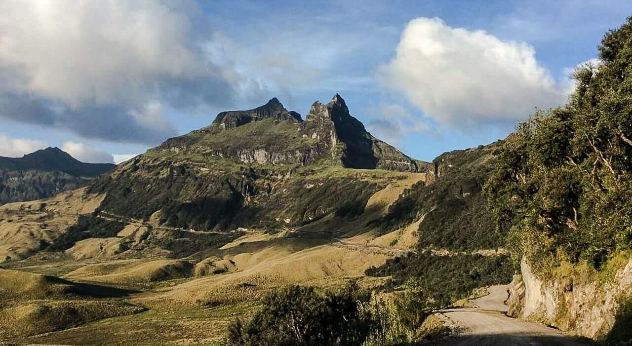 Cerro Casahuala, Ecuador