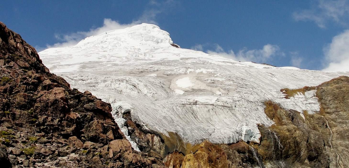 Volcán Cayambe, Ecuador