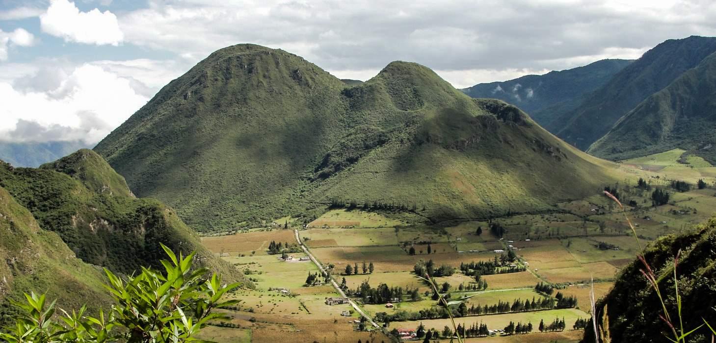 Volcán Pululahua, Ecuador