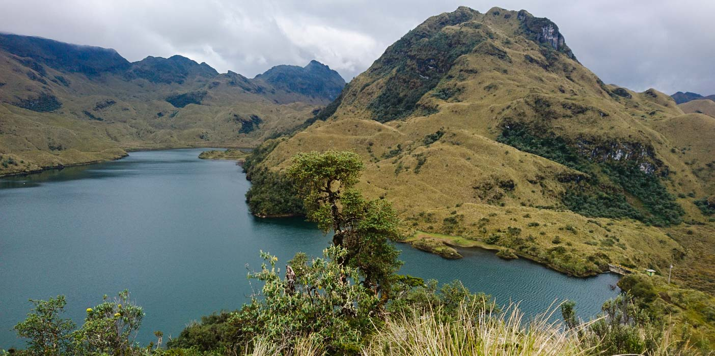 Laguna de Sucos, Parque Nacional Cayambe Coca, Ecuador