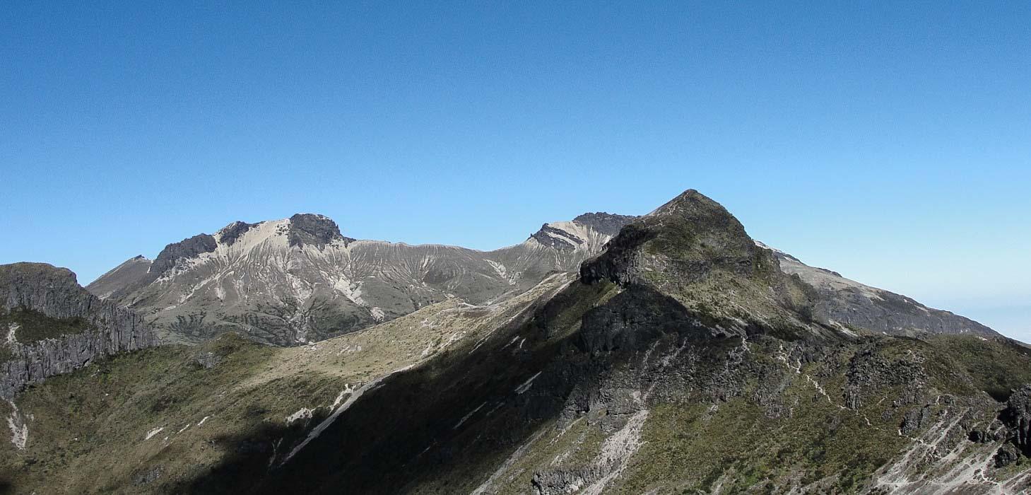 Trekking Guagua Pichincha - Ruco - Teleférico, Ecuador