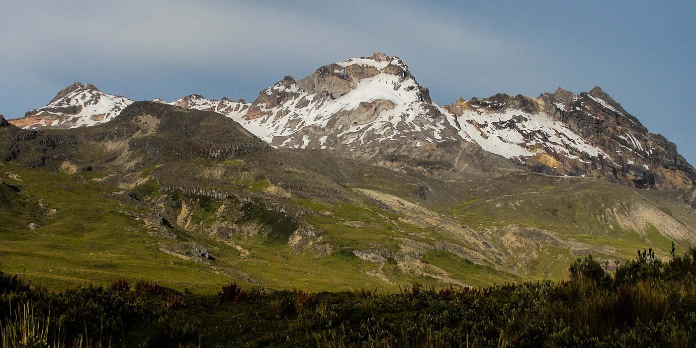 Volcán Carihuairazo, Ecuador