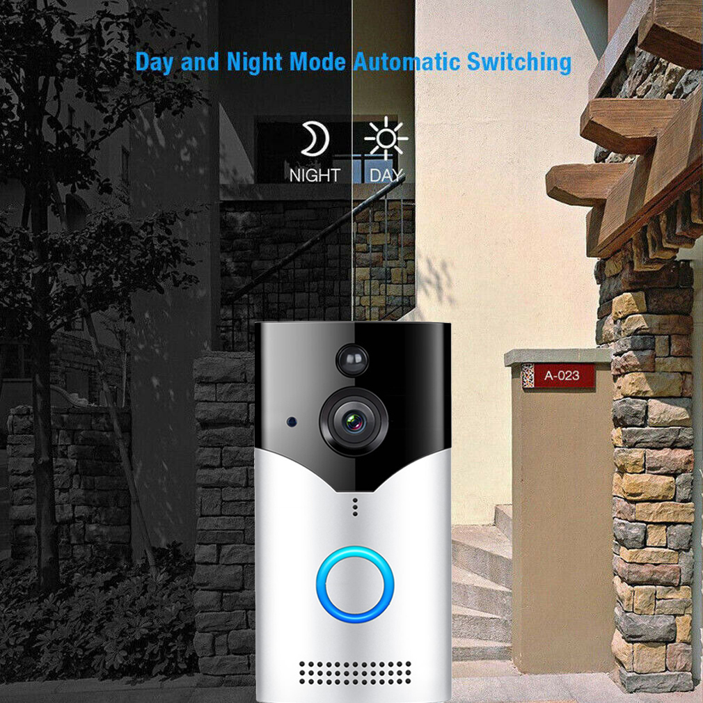 Smart WiFi Wireless Remote Door Bell with CCTV