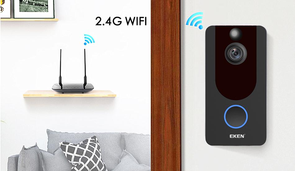 v6 EKEN Video Doorbell