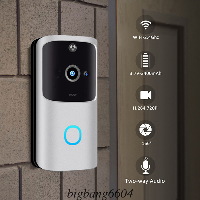 Wireless WiFi Smart Doorbell