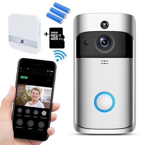 Smart Wireless Security Camera WIFI Doorbell