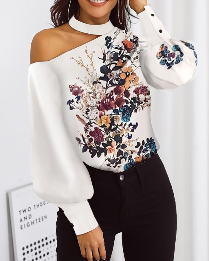 2020 Autumn Women Fashion Long Sleeve Blouse