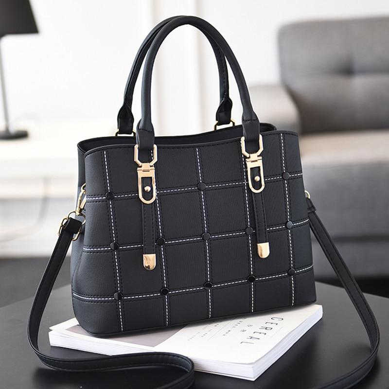 Leather Purse Large Capacity Handbag