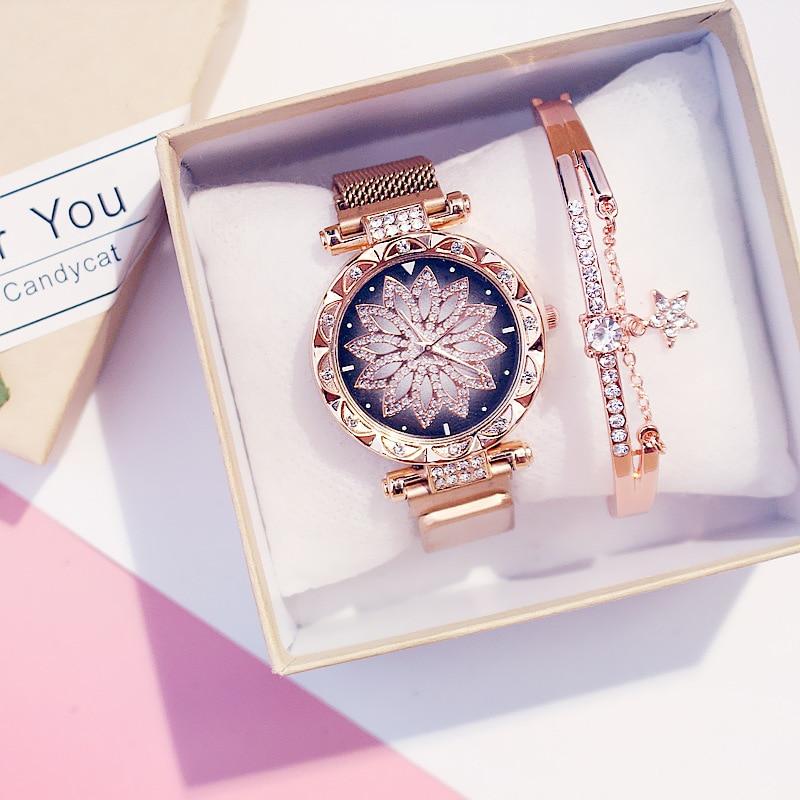 2020 Women's Luxury Watch and Bracelet Set