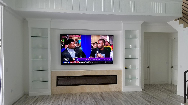 University Park Living Room 100 Inch Sony 4k Television