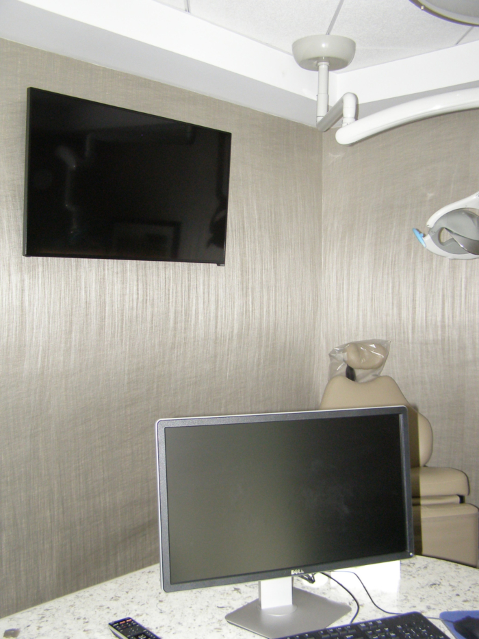TV Monitor Oral Surgeons Office