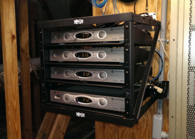 Venice Island Residence Cable Boxes and Lighting Control