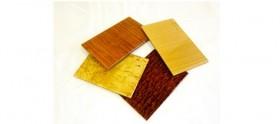 Custom Laminated Glass Wood