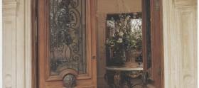 Provence Style Mahogany Door by Borano