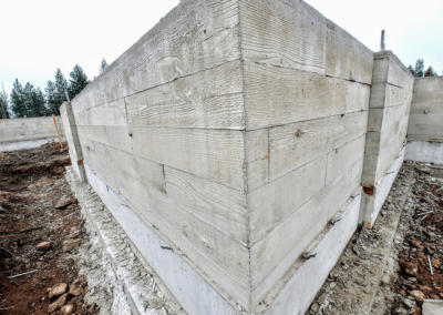 Structural concrete foundation by OR CONCRETE